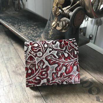 usnjena denarnica evileve chic mini red