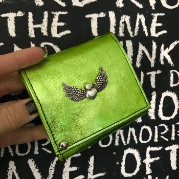 usnjena denarnica chic mini green evileve