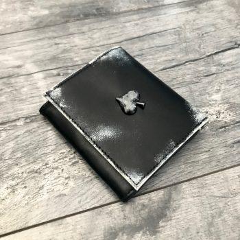 moska usnjena denarnica spade evileve