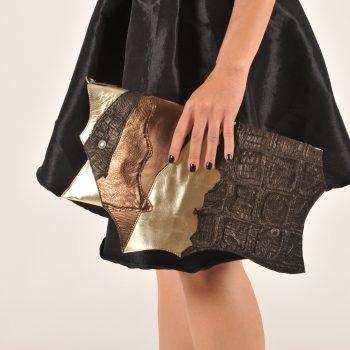 usnjena torbica evileve CHIC GOLDISH