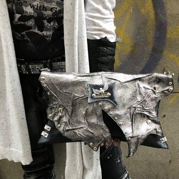 usnjena torbica stand out evileve