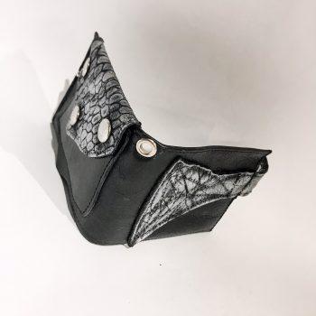 usnjena moška denarnica Blackstar Cut EvilEve