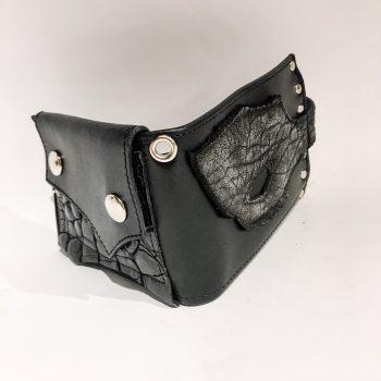 moška usnjena denarnica Blackstar Hole EvilEve