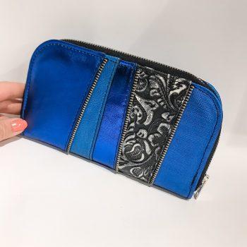 usnjena denarnica Adriatic Blue Chic Maxi EvilEve