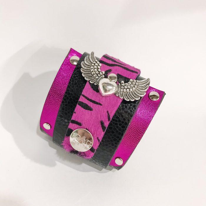 Zapestnica navijalka Angelwings Pink Cavallino