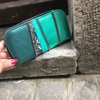 unikatna usnjena denarnica Sal Chic Maxi EvilEve