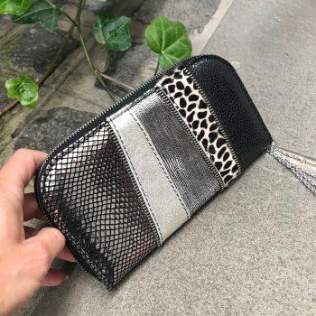 unikatna usnjena denarnica HotSilver Chic Maxi EvilEve