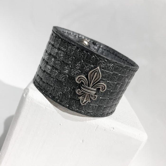 zapestnica Fleur de lis Unisex EvilEve
