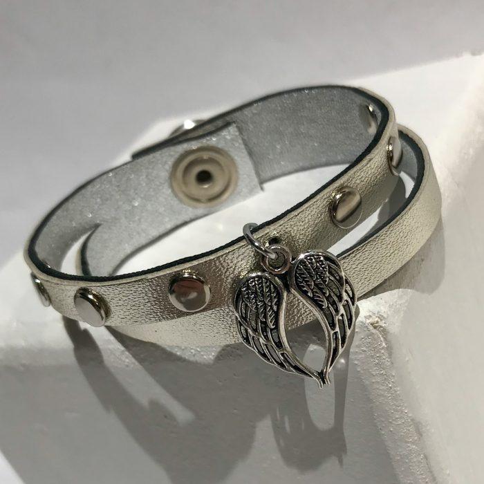 Lucky Angel platinum bracelet EvilEve