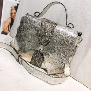 usnjena torbica Messenger bag Star Platinum EvilEve