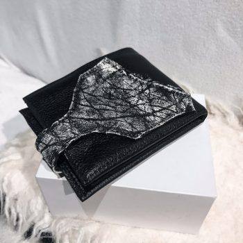 usnjena moska denarnica Blackstar Titan EvilEve