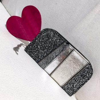 Unikatna usnjena denarnica Platinum star chic maxi EvilEve