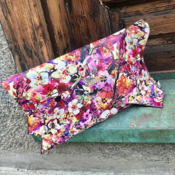 unikatna usnjena torbica clutch Summertime EvilEve