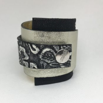 unique leather bracelet silverlove fashion wrap around cuff evileve