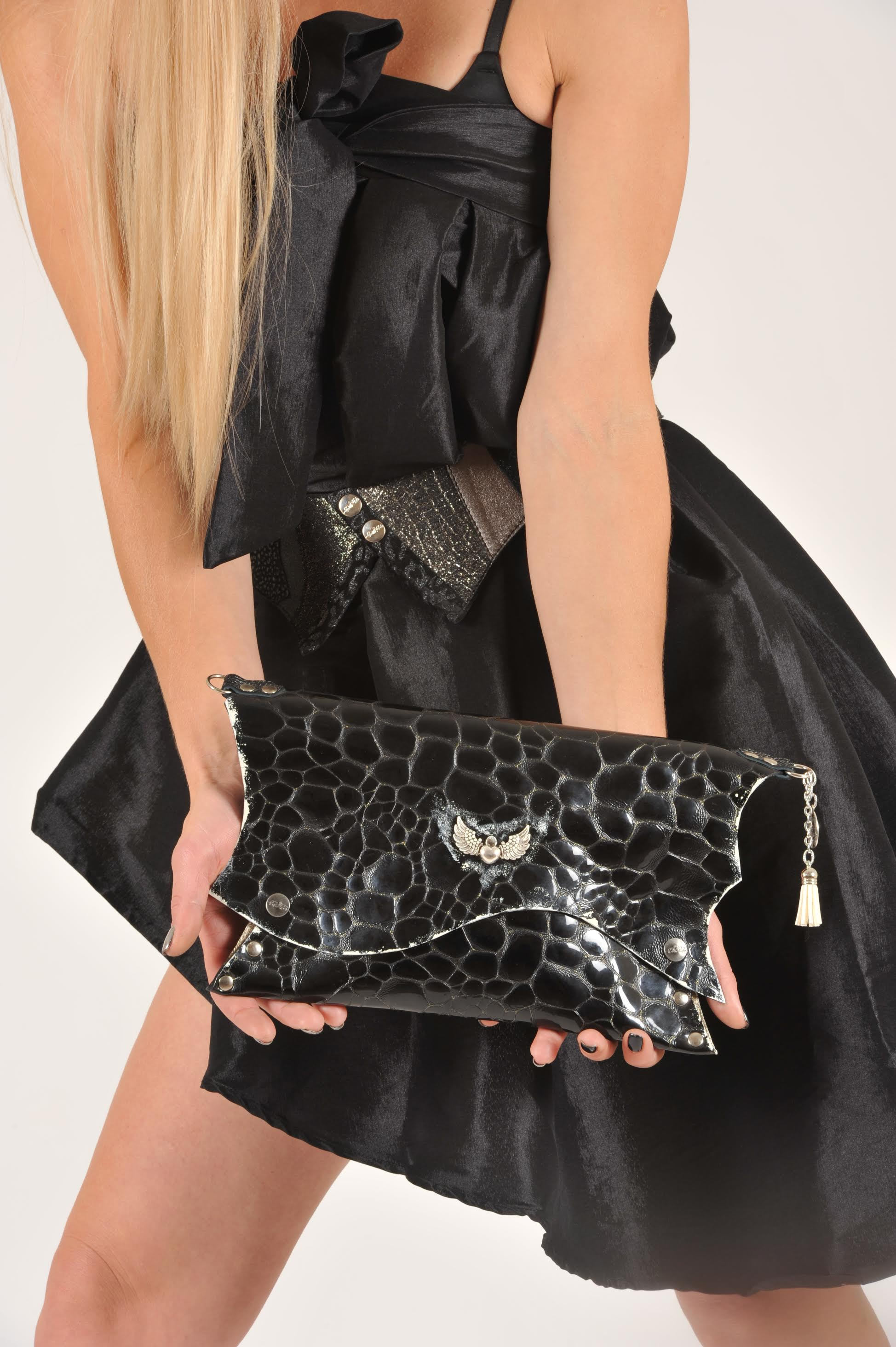 leather clutch SILVERMOON by EvilEve
