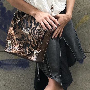 tiger messenger bag evileve