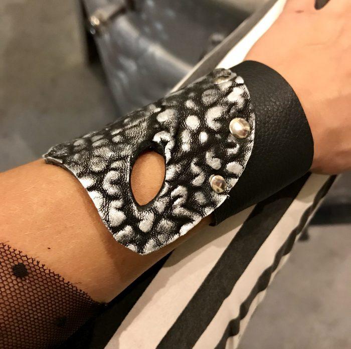 rockstar black unisex bracelet evileve