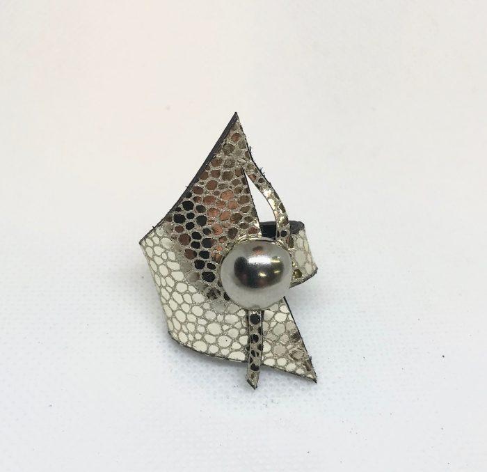 usnjen prstan wish platinum evileve