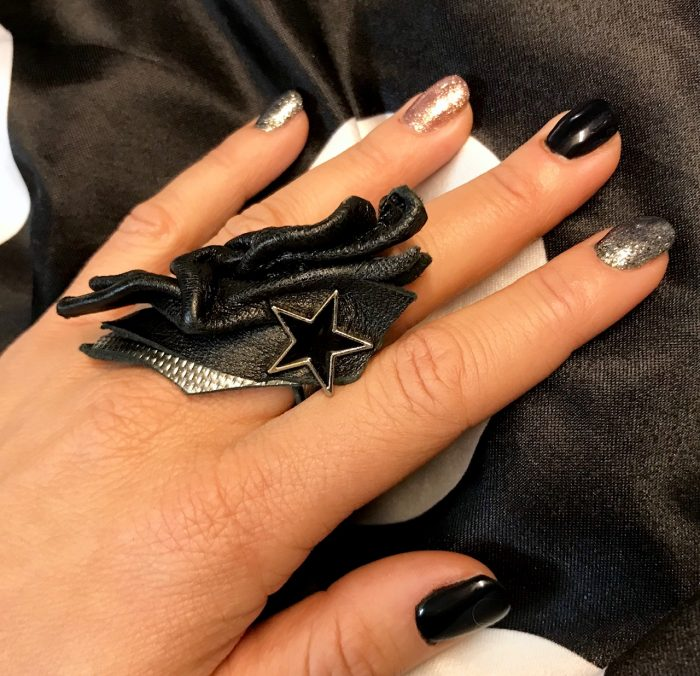 leather ring BLACKSTAR EVILEVE