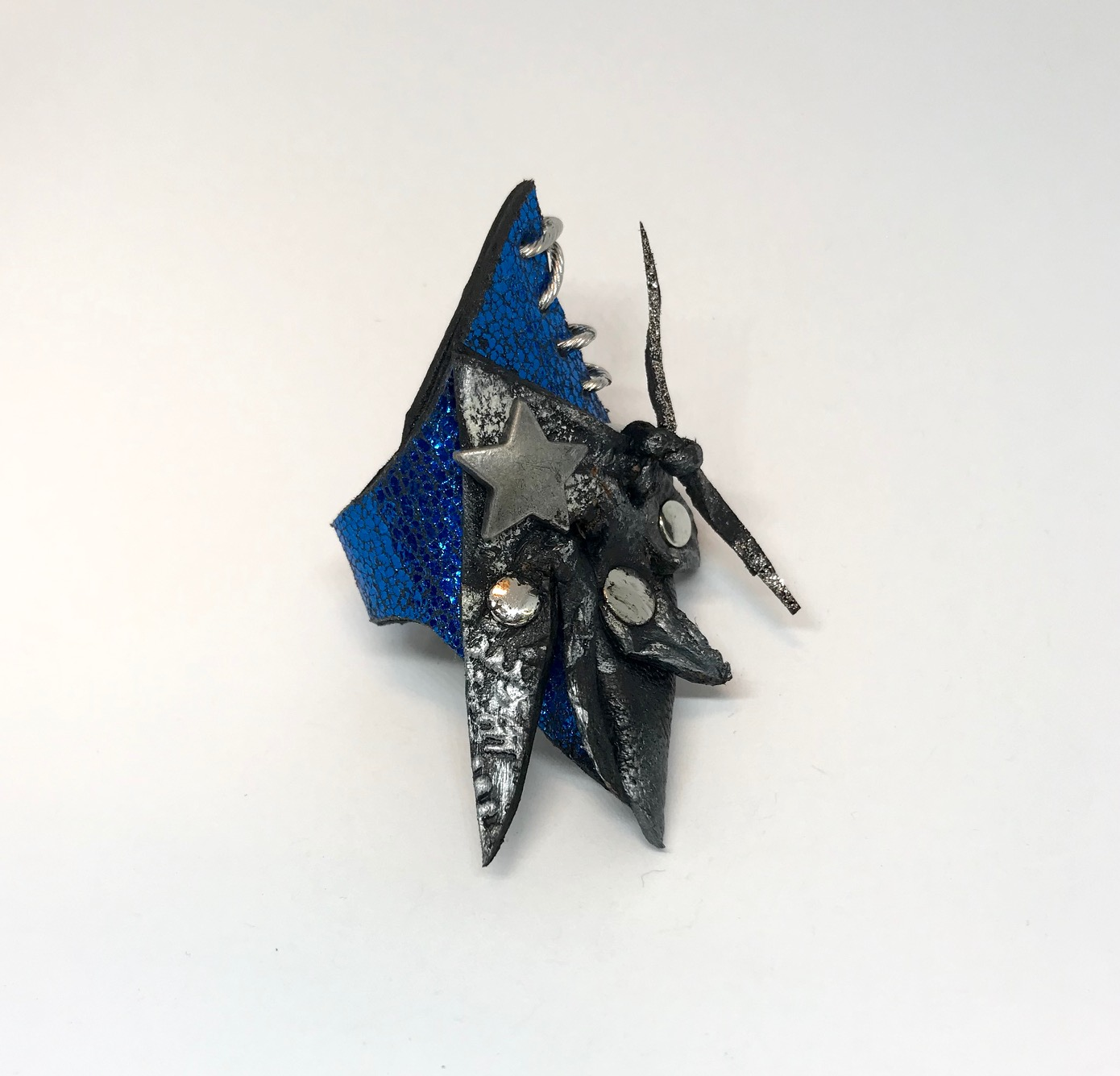 Blue Sky Leather Ring Evileve