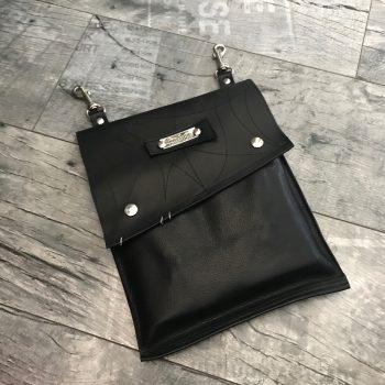 EvilEve hands free utility leather bag