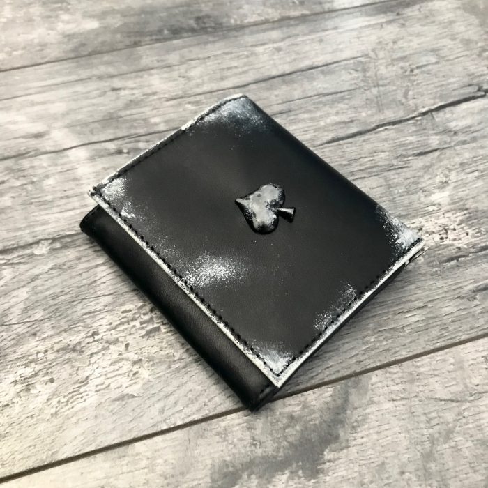 leather wallet men spade evileve