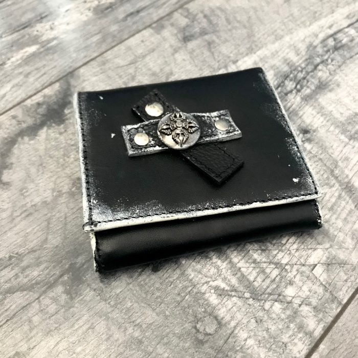 leather wallet men dare to wear evileve