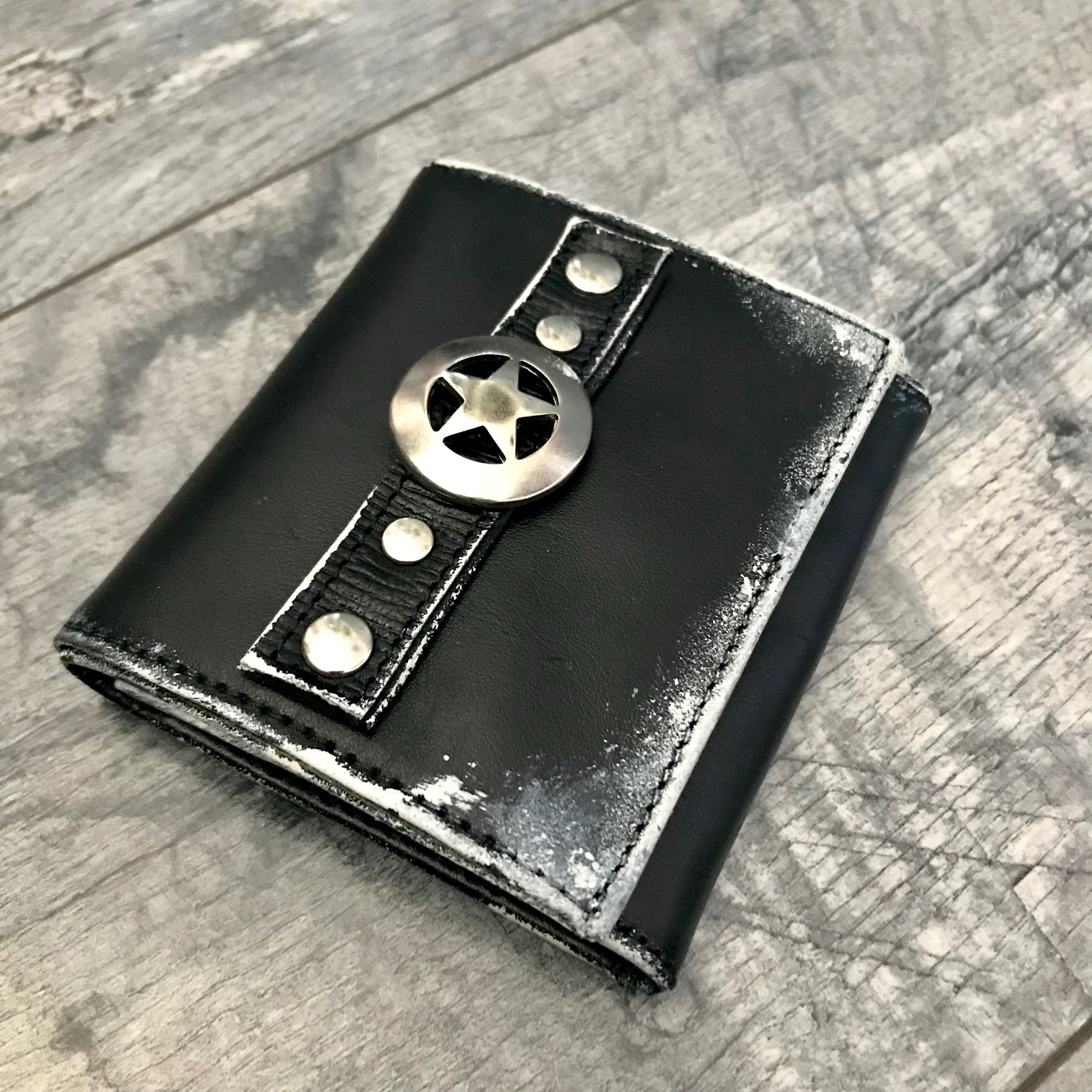 leather wallet men extra evileve