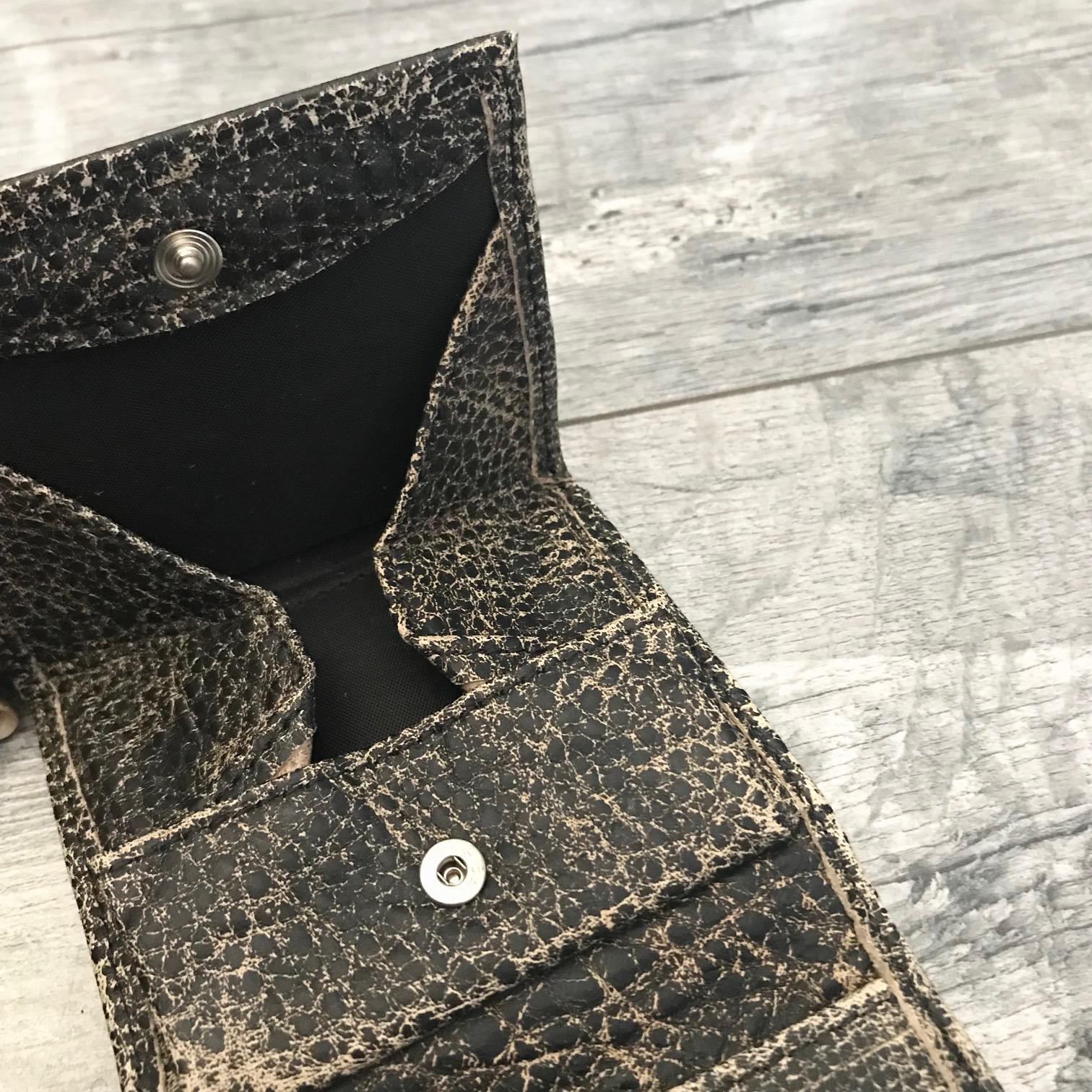 leather wallet men brownie evileve