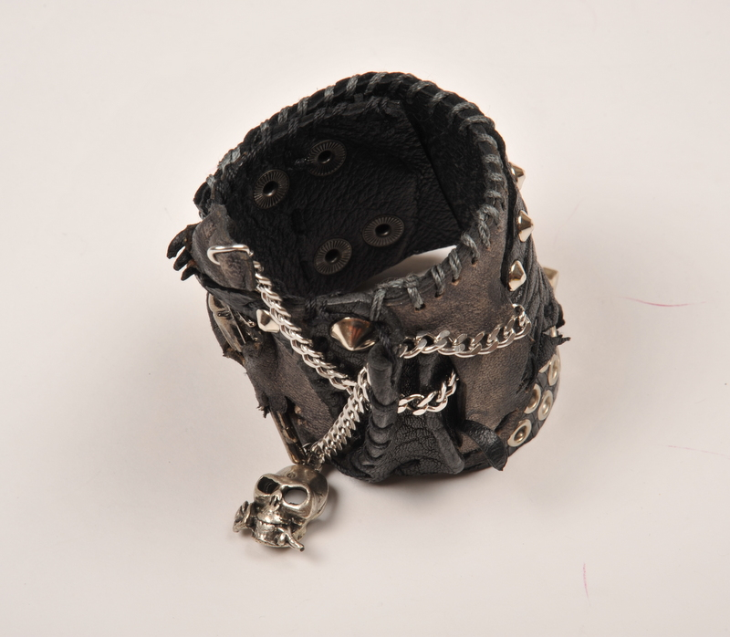 stage gear evileve leather bracelet