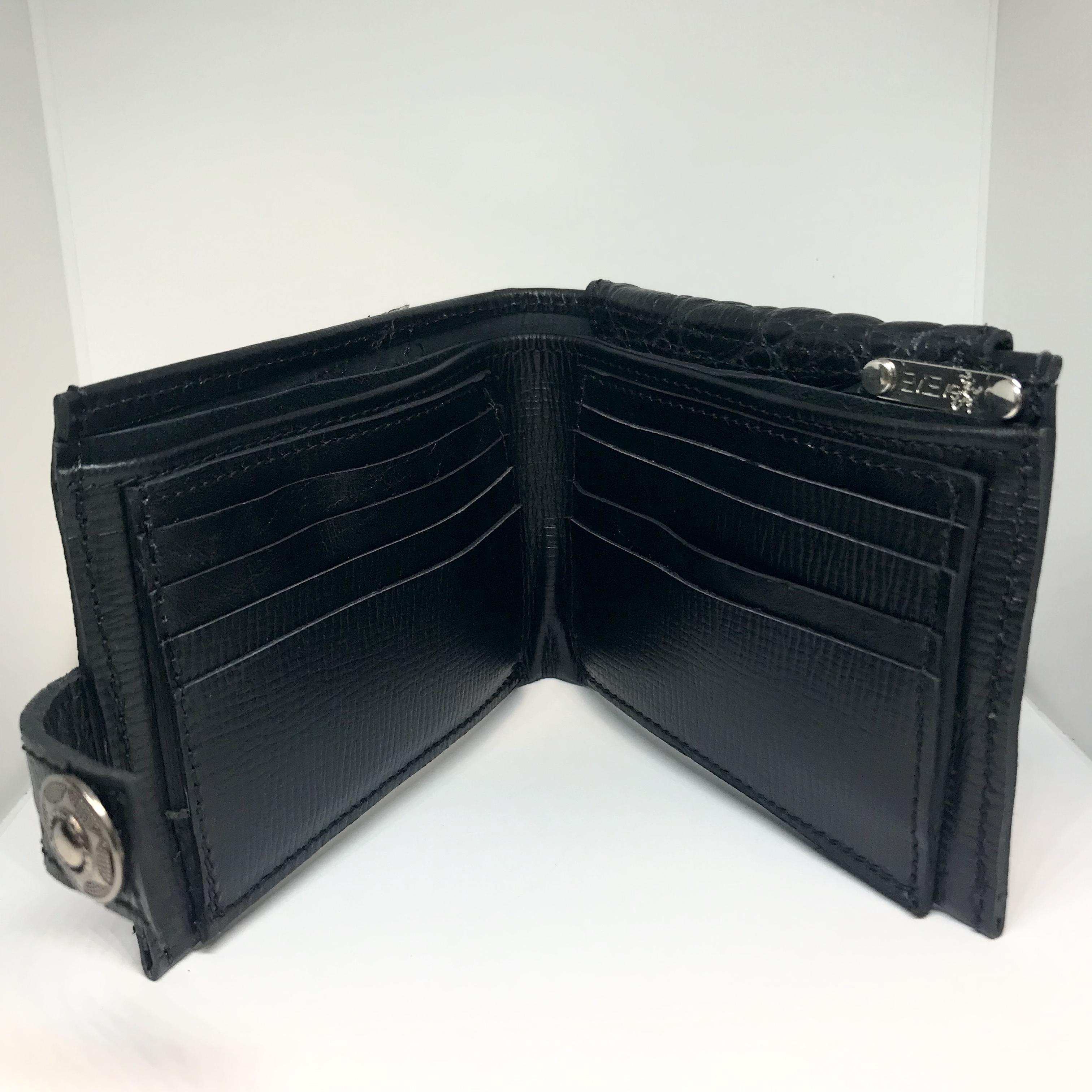 leather wallet for men blackstar evileve