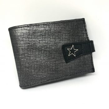 leather wallet blackstar king men evileve