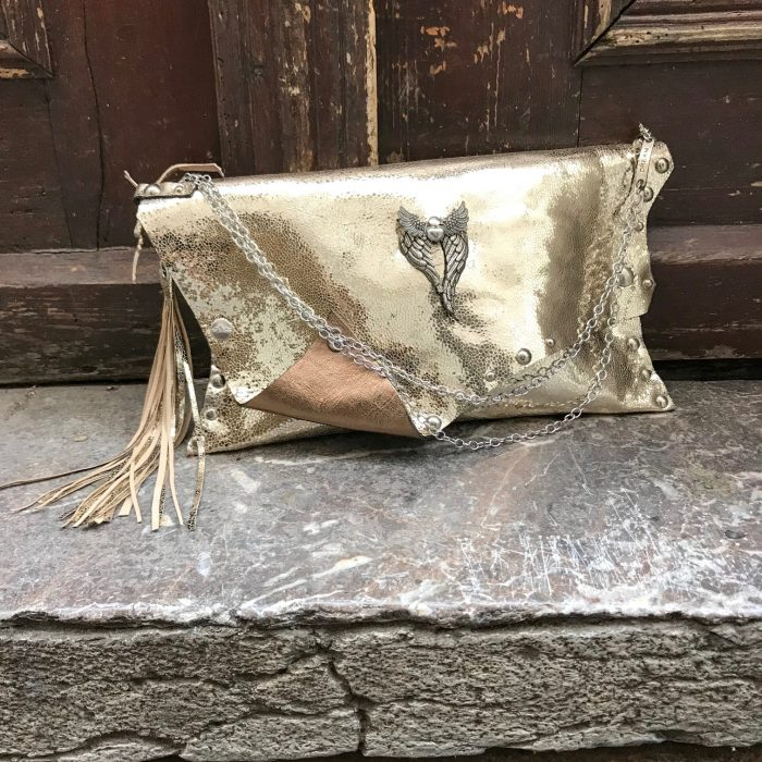 leather clutch wish evileve