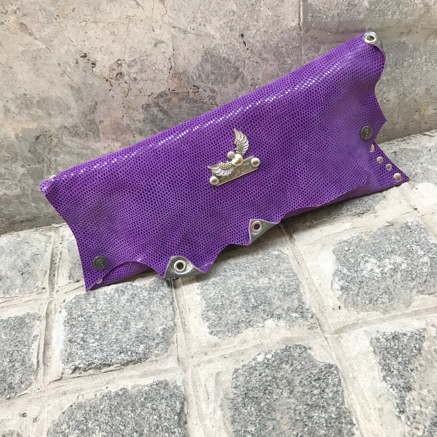 leather clutch lillylove evileve