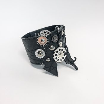steampunk passion leather unisex bracelet evileve