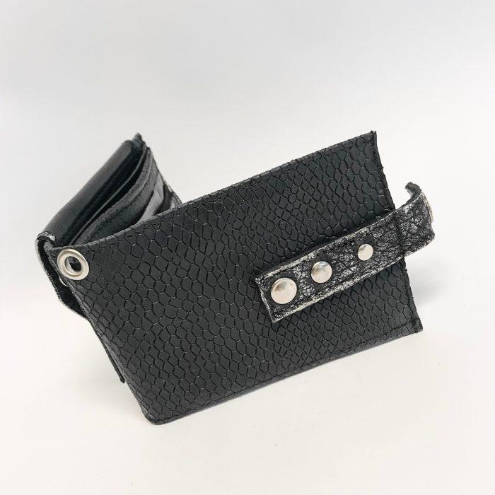 unique men leather wallet blackstar flow evileve