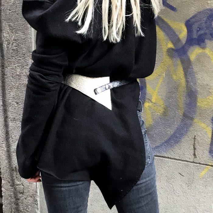 unique handmade leather belt perfect shaper platinum evileve