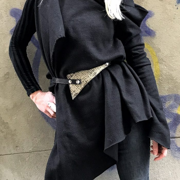 unique handmade leather belt evileve perfect shaper platinum love