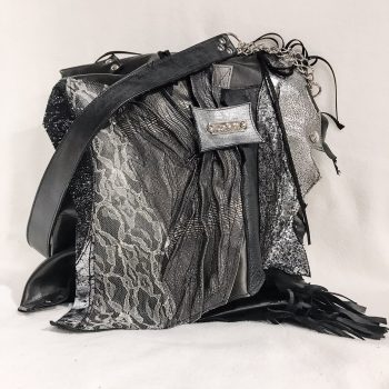 unique leather tote bag black secret evileve
