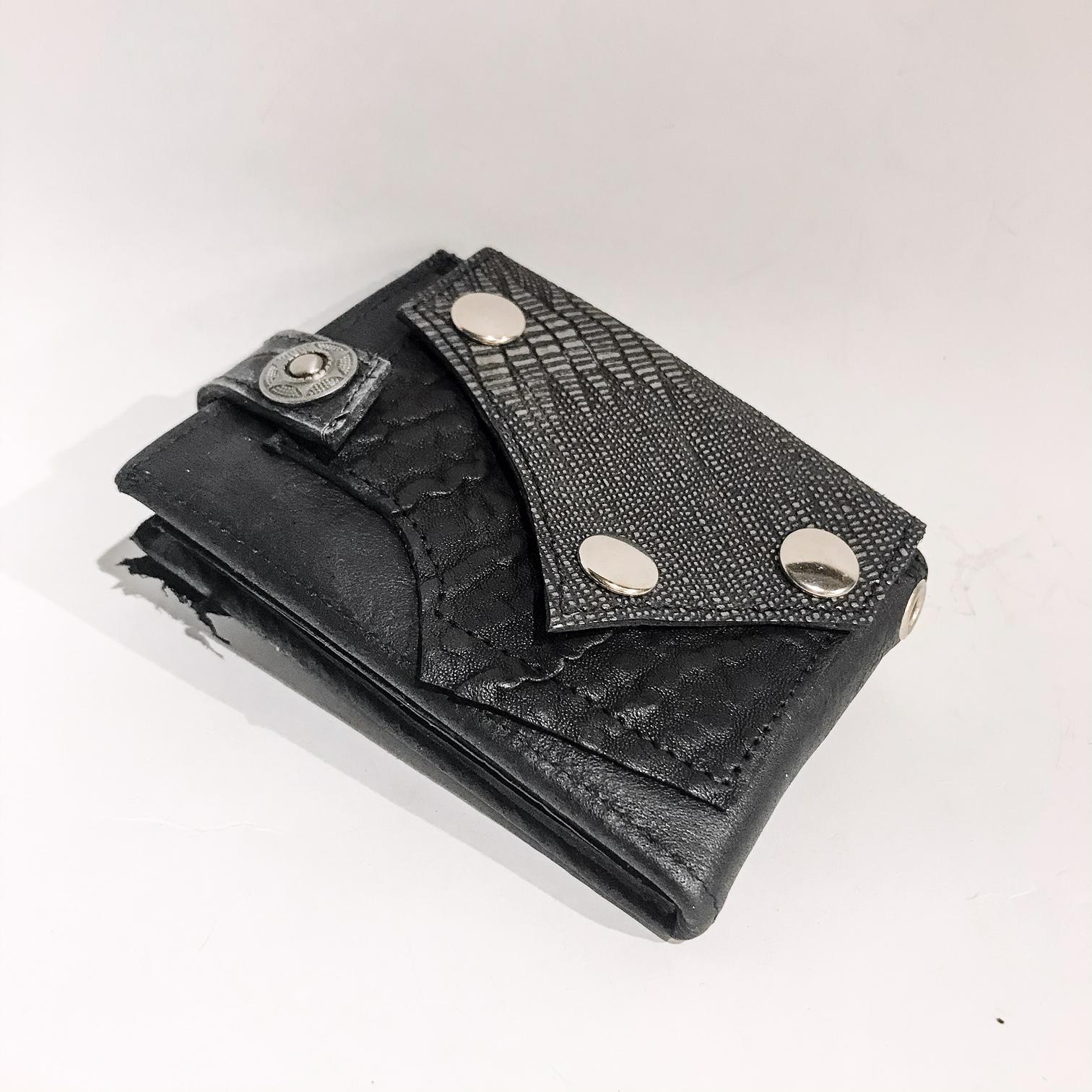 Blackstar Maltese Leather Wallet EvilEve