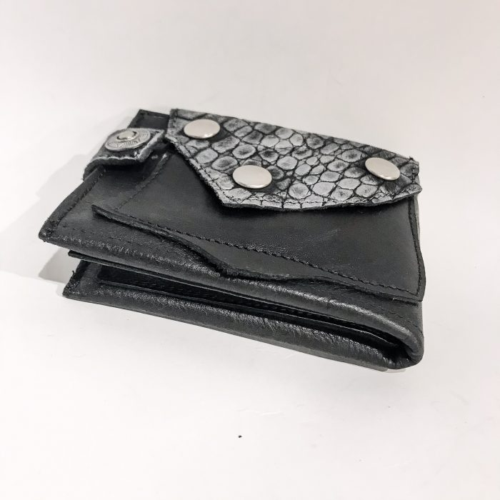 Blackstar Cut Leather Wallet EvilEve