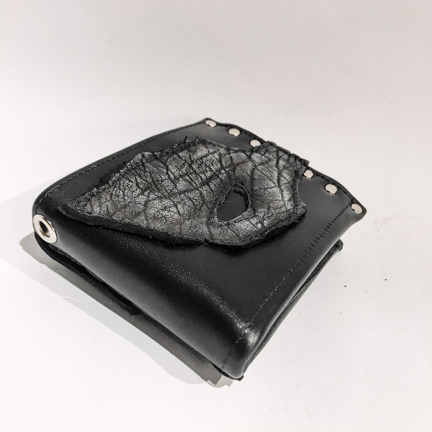 Blackstar Hole Leather Wallet EvilEve