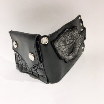 Blackstar Hole Leather Wallet EvilEve