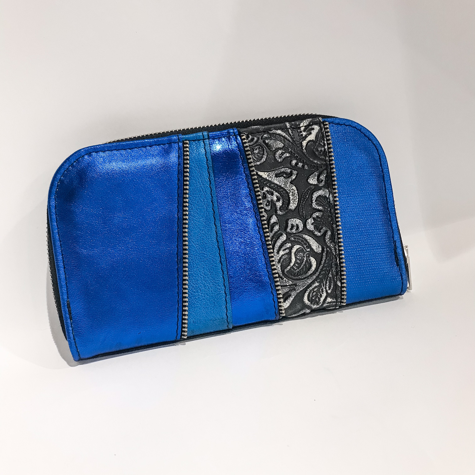 Adriatic Blue Chic Maxi Wallet