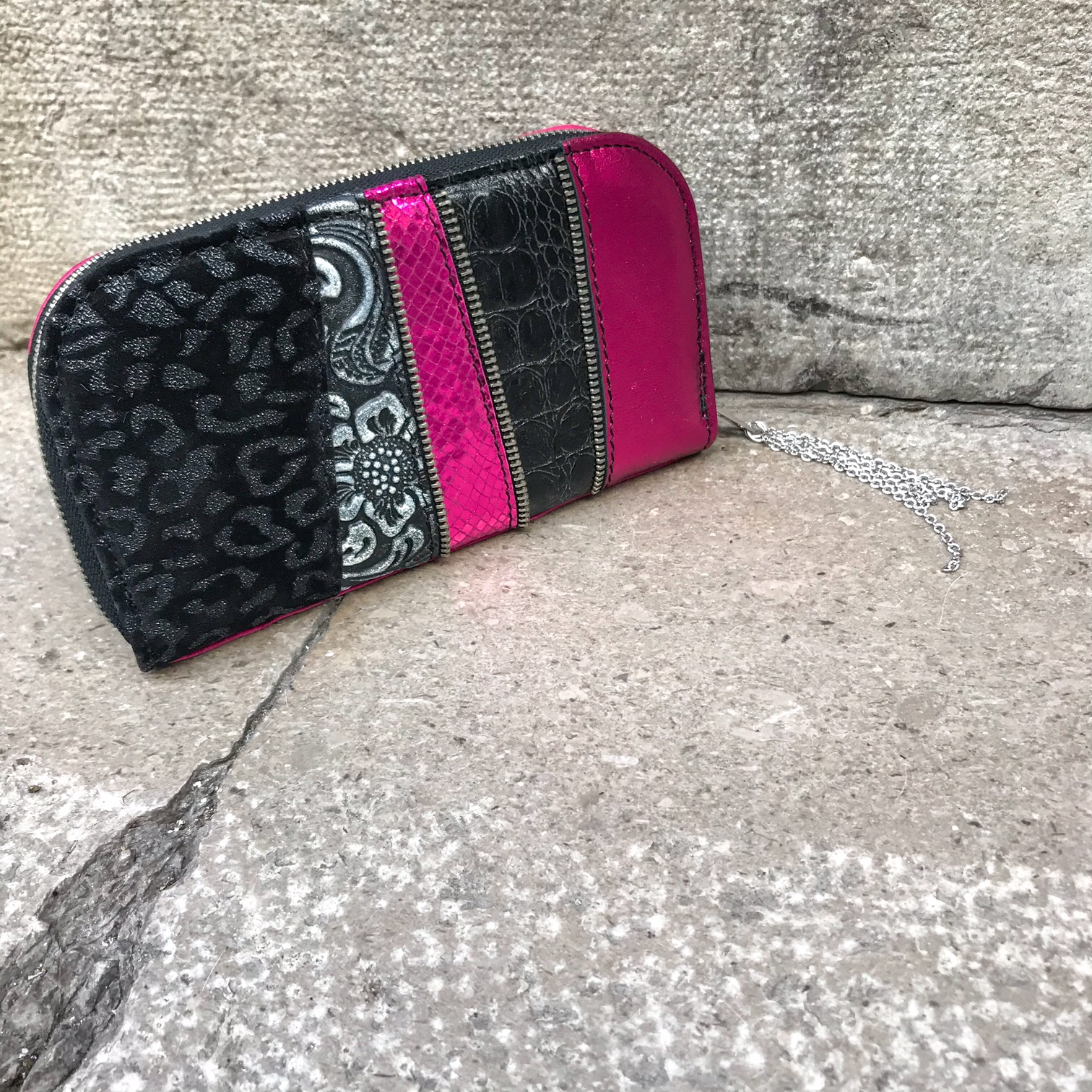 HotPink Chic Maxi Wallet EvilEve