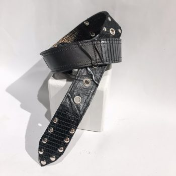 double face leather belt Rex EvilEve