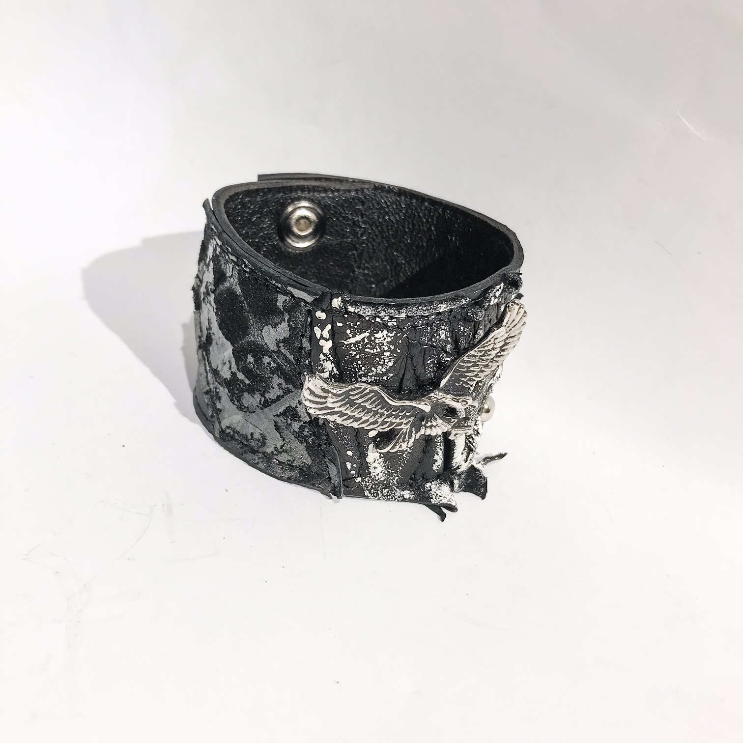 eagle unisex leather bracelet EvilEve