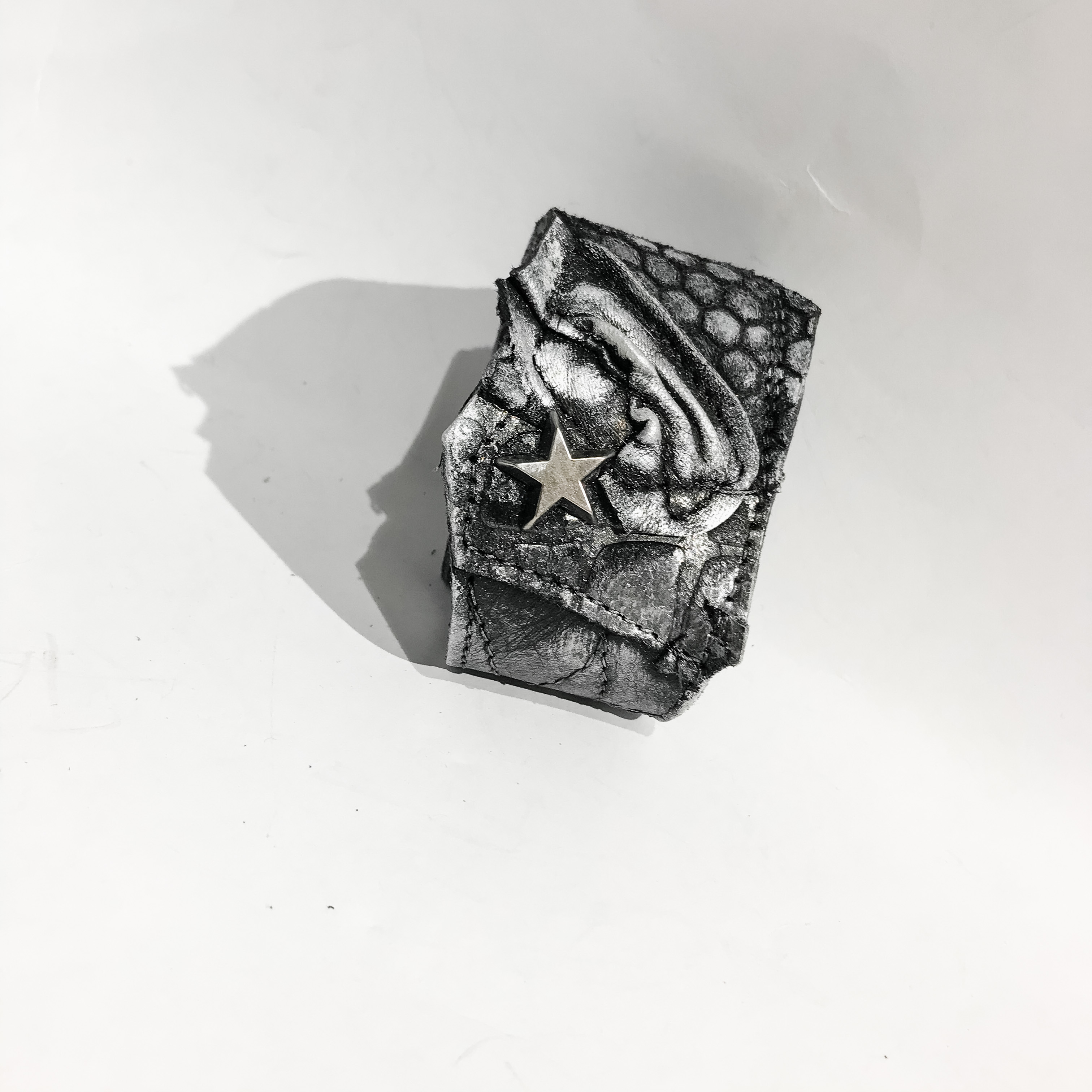 Unique leather bracelet Charon Unisex EvilEve