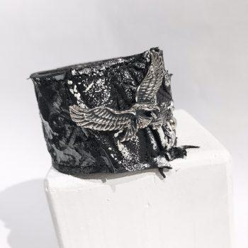 eagle unisex leather bracelet EvilEve