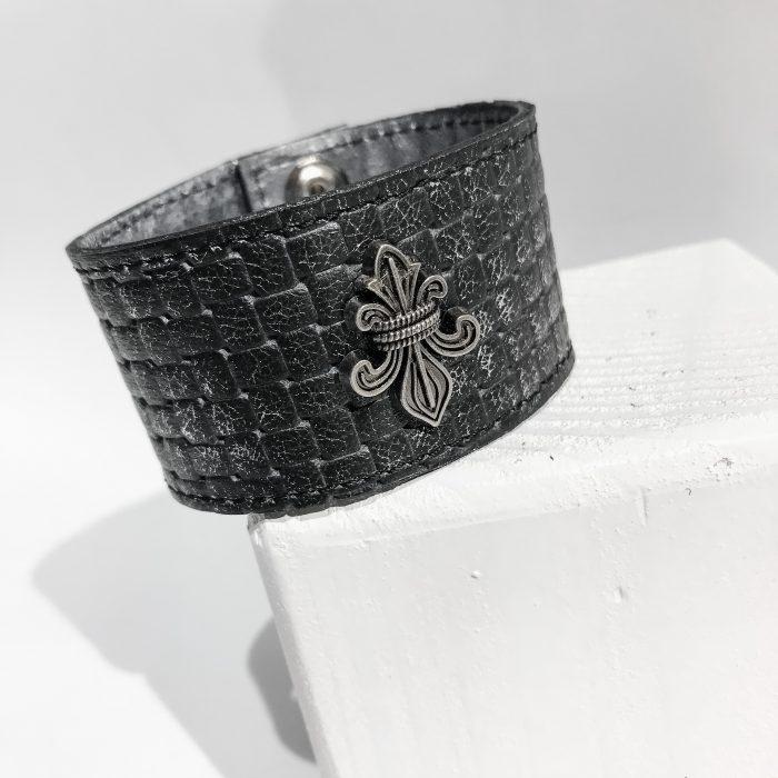 unique handmade bracelet Fleur de lis Unisex EvilEve